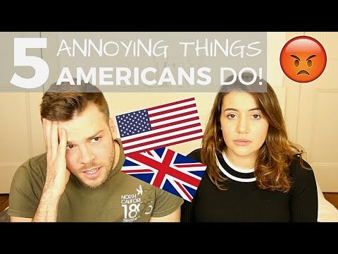 🇺🇸 5 Things AMERICANS Do That Drive BRITS Crazy! 🇬🇧