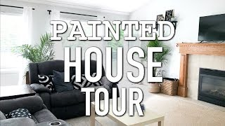 BEFORE AND AFTERS!    NEWLY PAINTED ENTIRE HOUSE TOUR    BETHANY FONTAINE