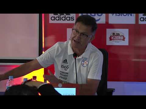 Juan Carlos Osorio, rueda de prensa DT de Paraguay y su objetivo de dirigir a la Seleccion Colombia