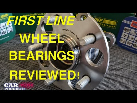 First Line Wheel Bearings Reviewed | Lexus RX 400h Needed New Ones BADLY!