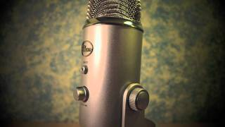 Blue Yeti USB Microphone - First Impressions & Sound Test