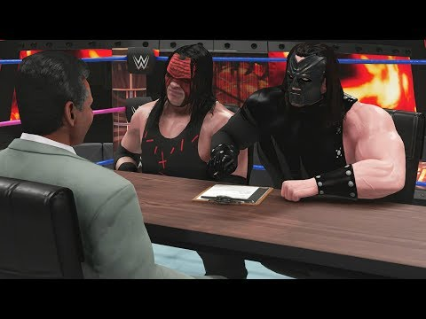 KANE'S SECRET TWIN BROTHER SIGNS WITH WWE! | WWE 2K19 Universe Mods