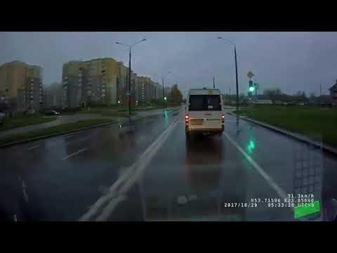 Пешеходы-камикадзе в Гродно