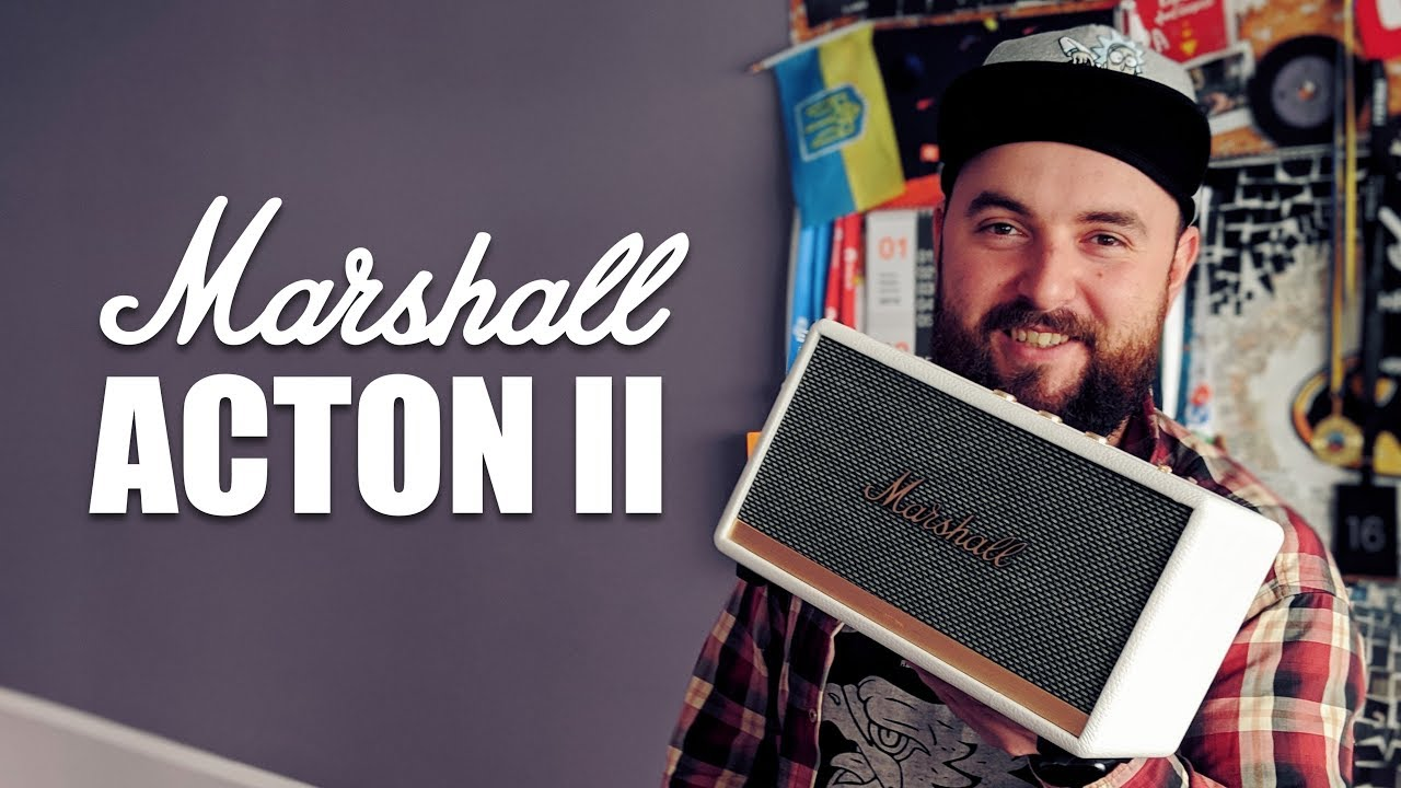 Акустика Marshall Loudspeaker Acton II (Black) video preview