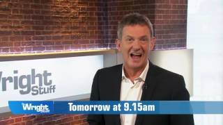 Here's what's coming up on tomorrow's Wright Stuff WrightStuff