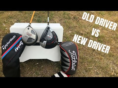 Old School vs Modern Technology - 15 Year Old Titleist 975J Driver vs 2018 Taylormade M4 Driver
