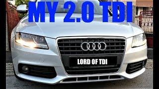 Audi A4 B8 2.0 TDI REMAPED 192 HP 420 NM ( Springs , Remap , K&N )