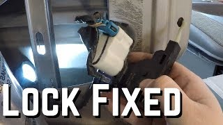 2004 Chevy Avalanche Lock Actuator Replacement
