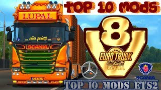 🔝TOP 10 BEST TRUCKS MODS MARCH 2019 ETS2 1.34🔝