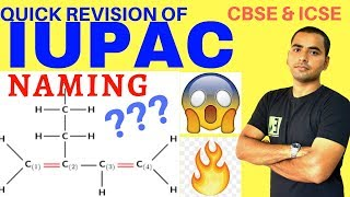 HOW TO WRITE IUPAC NAMES OF ORGANIC COMPOUNDS? CLASS 10 -11 BASIC