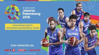 18th Asian Games – Philippine Basketball Team