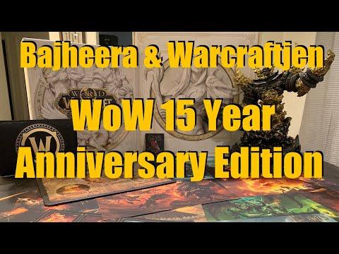 Bajheera & Warcraftjen - WoW 15 Year Anniversary Edition Unboxing Vlog! :D