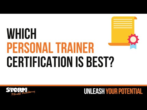 Which personal trainer certification is best? - YouTube
