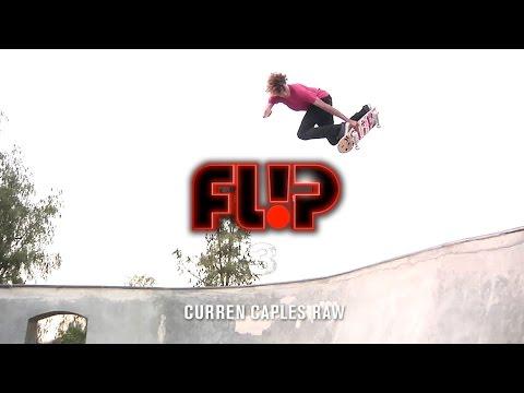 Curren Caples Flip '3' Raw - TransWorld SKATEboarding