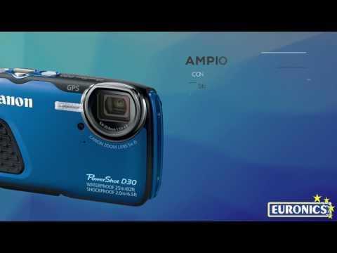 CANONPowerShot D30 (Waterproof)blu