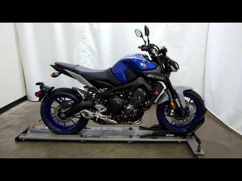 2020 Yamaha MT-09 in Eden Prairie, Minnesota - Video 1