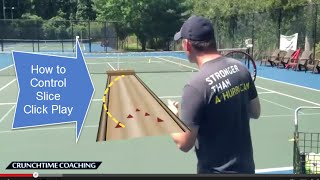 Tennis Tips: Best Slice Serve Drill In The World For Max Control