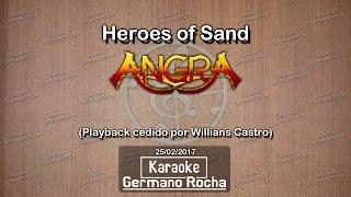 Angra - Heroes Of Sand (Karaoke)