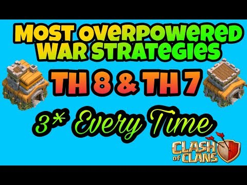 Most Strong Army Composition For War For Th7 & Th8 ,very Easy 3* Strategies. Mp3