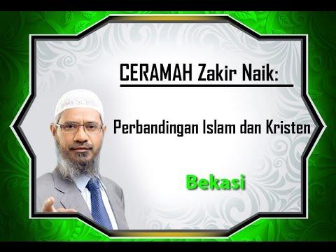 Perbandingan Islam dan Kristen di Mata Zakir Naik