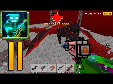 Pixel Gun 3D - Gameplay Walkthrough Part 11 - Campaign World 2