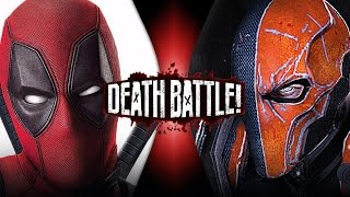 Deadpool VS Deathstroke  DEATH BATTLE