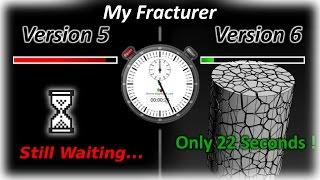 שיפור מאסיבי במהירות בגרסא 6 של מחולל השברים שפיתחתי - (X22 יותר מהיר) !