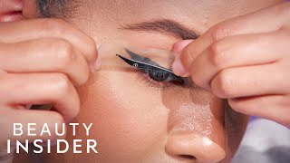 I Tried Eyeliner Strips That Claim To Give A Cat Eye In Seconds   Beauty Or Bust