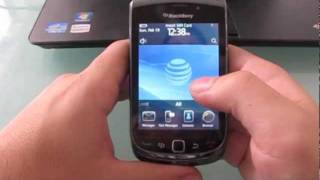 How to unlock Blackberry Torch 9800 9810