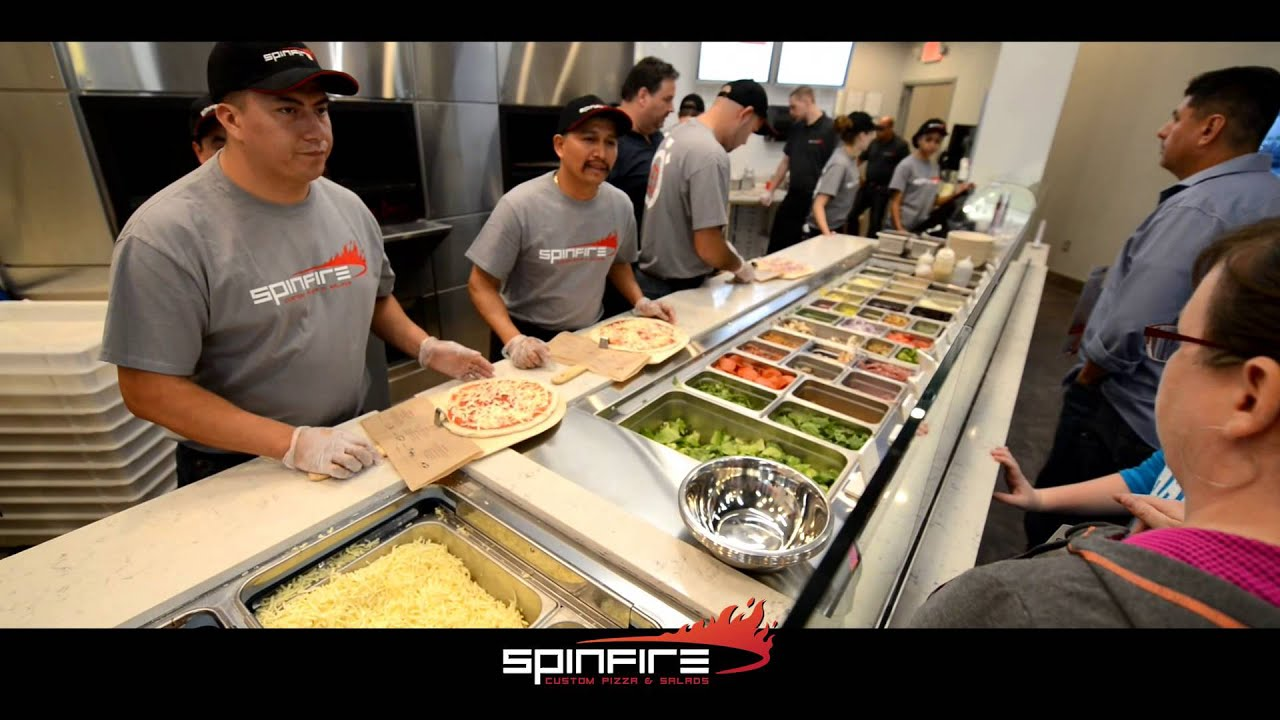 SpinFire Pizza Grand Opening