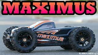 DHK MAXIMUS 1/8 Monster Truck - New Toro TS150 6S Competition ESC - How To Program