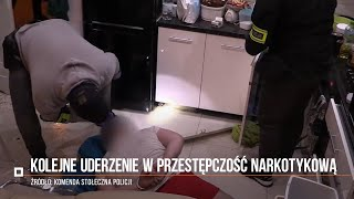 Policyjne uderzenie w przestępczość narkotykową. Zatrzymano 14 osób