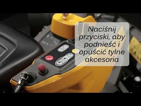 Obsługa przycisków i dźwigni sterujących