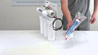 How to Insert and Assemble Reverse Osmosis Filter and Membrane - APEC Water Installation Part 2