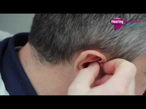 HD90 Hearing Aid Insertion and Removal