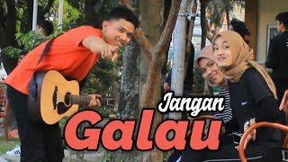 Gambar cover Nyanyiin Lagu Galau Sampai Buat Cewek Mau Nangis -  BUKAN UNTUKKU ( COVER - RACMI AYU )