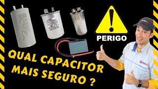 Qual capacitor mais seguro?
