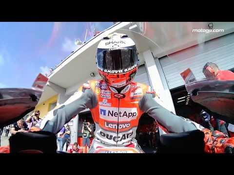 2018 German GP - Ducati in action