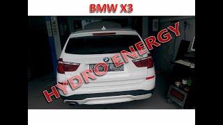 BMW X3 sDrive hidrojen yakıt tasarruf sistem montajı