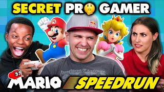Professional Mario Speedrunner DESTROYS Gamers (React)