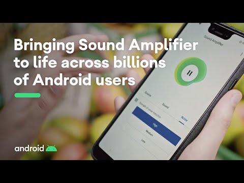 ה-Sound Amplifier מגוגל בא לשפר את מובנות הדיבור בסביבה רועשת