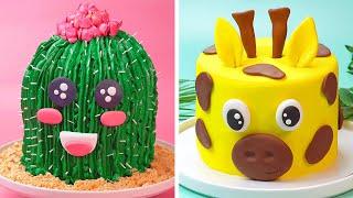 Top Cake Decorating Compilation | Easy Fondant Cake Decorating Ideas | So Tasty Cakes