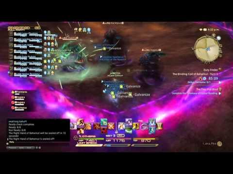 FINAL FANTASY XIV: A Realm Reborn Coil Turn 5 Solo Tank