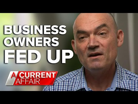 Business owners fed up with franchise giants' tactics | A Current Affair