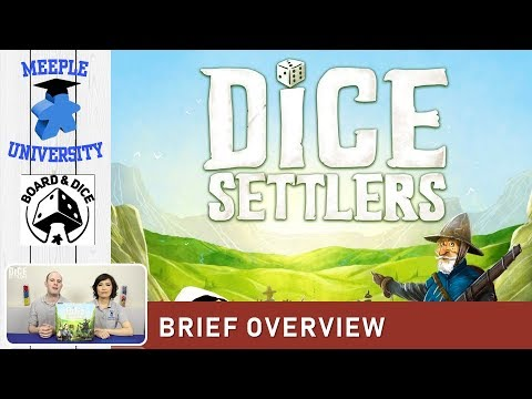 Dice Settlers Board Game – What to Expect, Brief Overview. BEST Overview