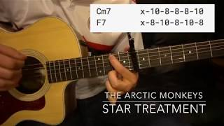 Easy Guitar Lesson // The Arctic Monkeys // Star Treatment