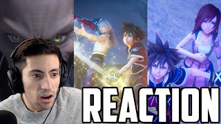 Kingdom Hearts 3 MEGA TRAILER REACTION (Opening, Together, Pooh, and Lucca Trailers)