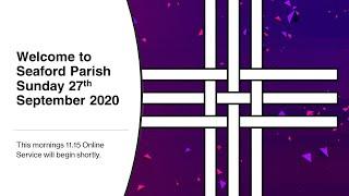 Online Worship: Sunday 27th September