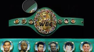 Новости бокса: Флаг Казахстана и портрет Геннадия Головкина появились на чемпионском поясе WBC.
