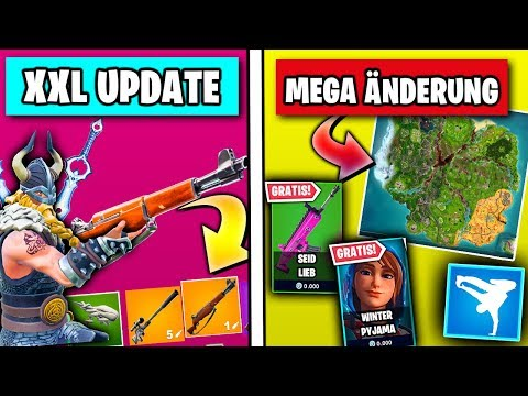 Valentins Tag Update 🎁 Kostenlose NEUE Skins, Leaks, Liveevent | Fortnite Season 7 Deutsch
